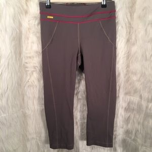 Lole Gray Cropped Leggings